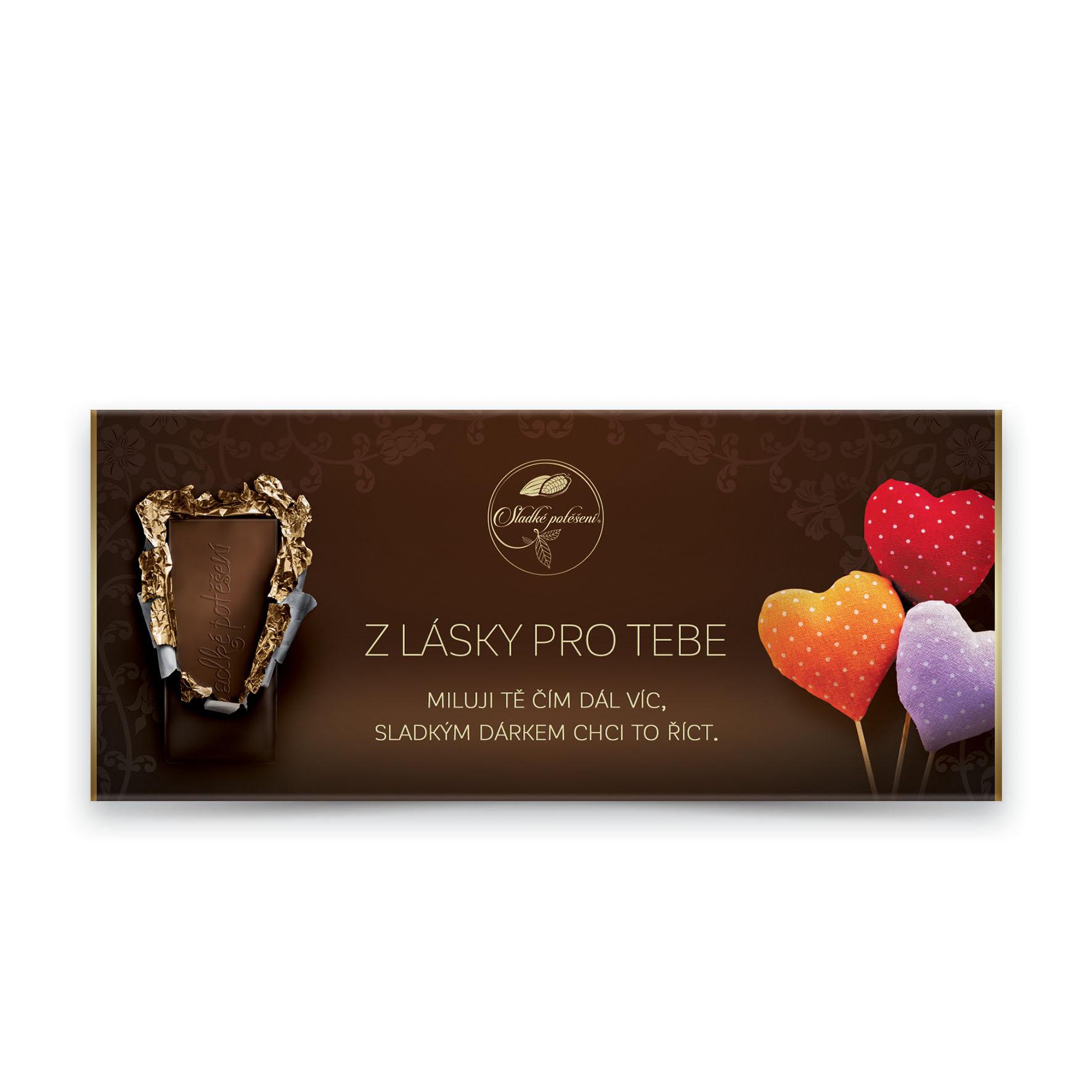 Čokoláda s přáním